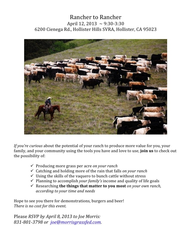Rancher to Rancher flyer