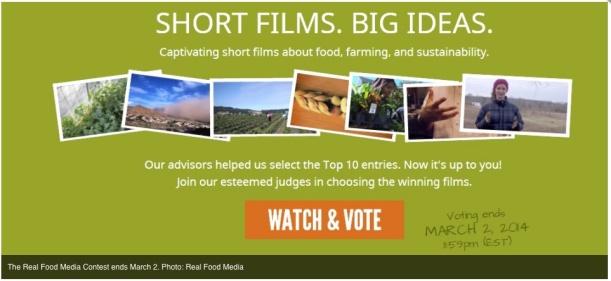 real food media voting