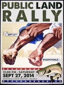 public land rally