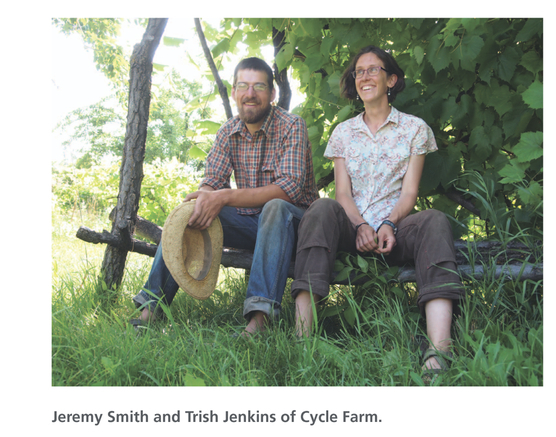 Jeremy and Trish Cycle Farm