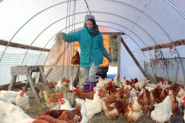 Farmer Taylor Hutchinson photo credit: Kathleen Masterson/VPR