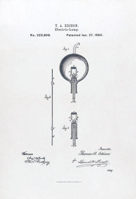 Edison + Lamp